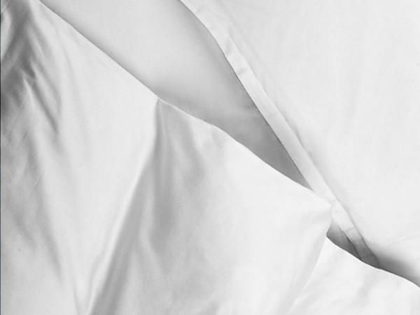 Copripiumino Spirit Raso di Cotone Bianco
